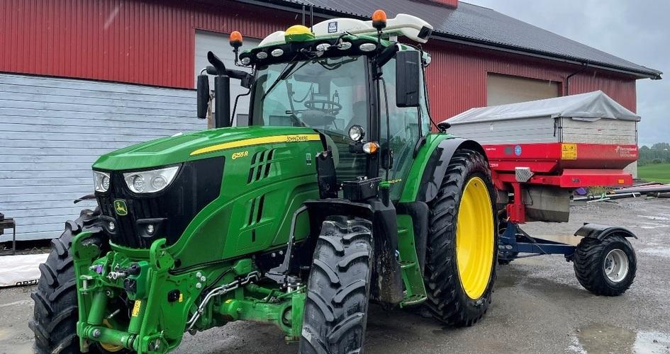 N-sensor på traktor